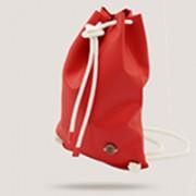 ifbag zainetto ecopelle rossa