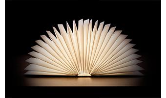 OoBook – il libro luminoso che sorprende