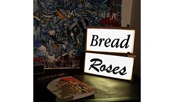 Box Lux-lampada con scritta
