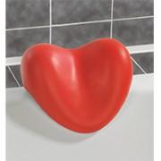 cuscino vasca cuore colore rosso