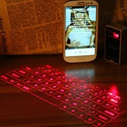 tastiera computer laser