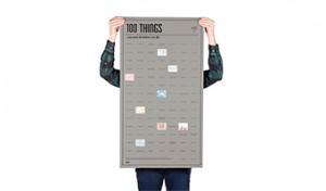 100 cose da fare prima di morire poster