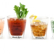 bicchieri da cocktails con ricette