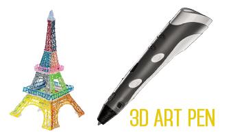 3D Pen Per disegnare oggetti tridimensionali a mano
