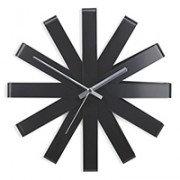 umbra-metal-black-wall-clock-orologio
