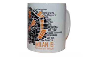 Mug Milano mappa fashion-design