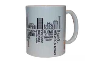 Mug Milano skyline