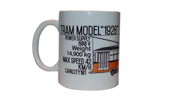 Mug Milano Tram