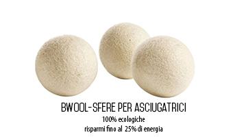 3 sfere ecologiche per asciugatrici