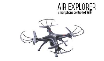 Drone con videocamera -Air controller