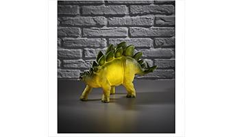 Lampada dinosauro stegosauro