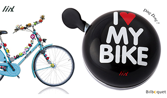 "Maxi campanello bici ""I love my bike"""