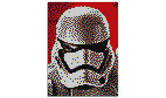 Star Wars quadro pixel art Storm Tropper