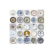 ixxi Rijksmuseum plates piatti fondo bianco