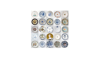 Quadro a pannelli plates Rijksmuseum