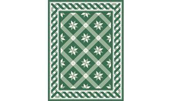 tappeto telki bizantino verde 60x80