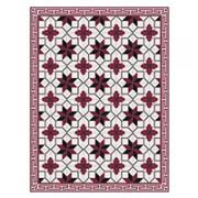 tappeto telki in vinile toscano rosso 60x80