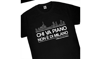 T-shirt milanese imbruttito