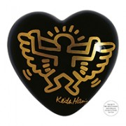 cuore in ceramica keith haring angel