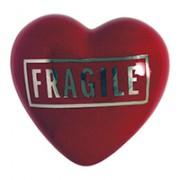 cuore in ceramica fragile