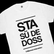 T-SHIRT MILANESE IMBRUTTITO STA SU DE DOSS