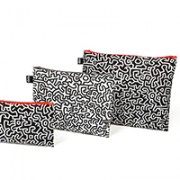 pochette loqi keith Haring