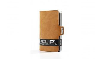 I Clip il portacarte di credito soft touch