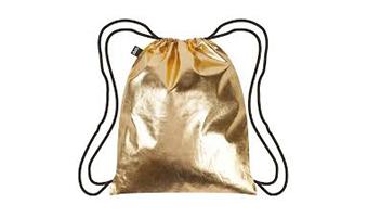 Zaino sacca decorato METALLIC