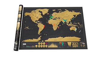mappa da grattare deluxe