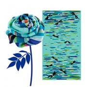 sciarpa decorata pylones