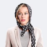 foulard parapioggia microfibra nero