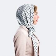 foulard parapioggia grigio