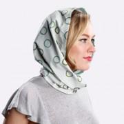 foulard parapioggia microfibra pois