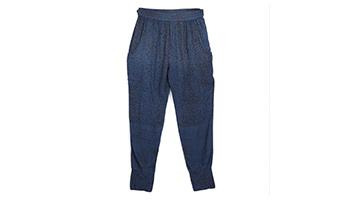 pantaloni con note musicali