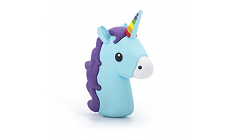 power bank unicorno thumbs up