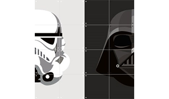 Quadro a pannelli ixxi star wars