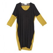 vestito giallo e antracite karakorum