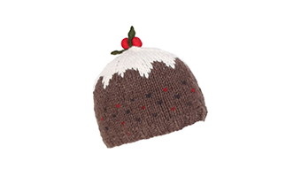 "Cappellino Christmas ""pudding"""