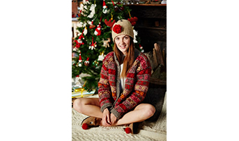 Cappellino Christmas Renna