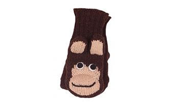 Guanti lana scimmia