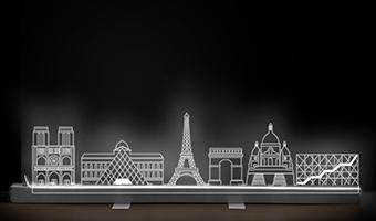 Lampada Skyline Paris LED