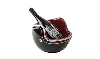 Porta bottiglia casco moto