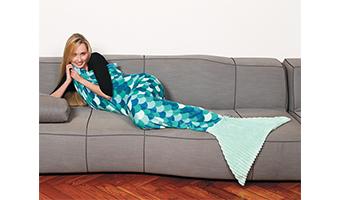 Come sopravvivere al freddo?? Con le coperte Sirena e le coperte indossabili!