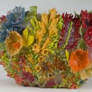 vaso in silicone fiorato design scagliotti