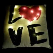 cuscino-luminoso-love