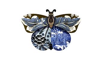 Farfalla decorazione/armadietto