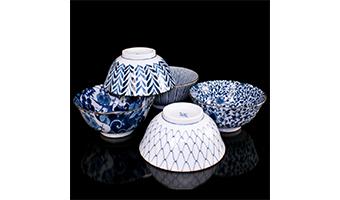 Ceramica giapponese set 6 ciotole