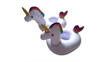 unicorni galleggianti porta bicchieri