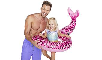 Sirena gonfiabile per bambini