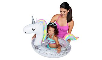 Unicorno gonfiabile per bambini